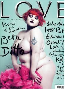 """Beth Ditto sulla cover di """"Love"""""""