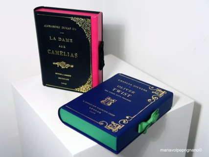 book clutch bags by M., Maria Marigliano Caracciolo