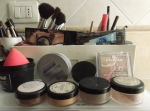 fatty fair blog - how to organize makeup station