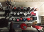 fatty fair blog - how to organize makeup station