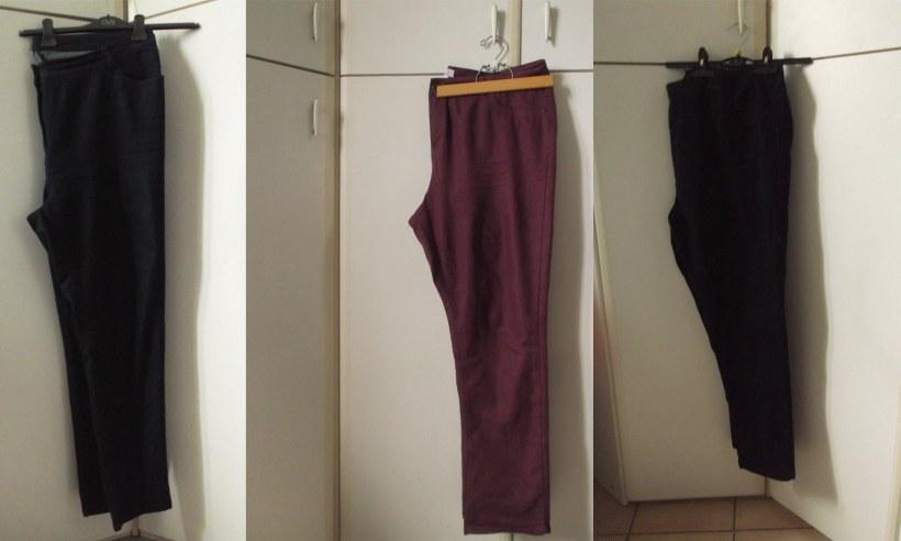 pantaloni taglie comode