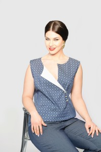 C di Cannella abbigliamento plus-size estate 2014