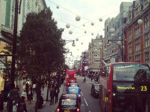 Oxford st, Londra