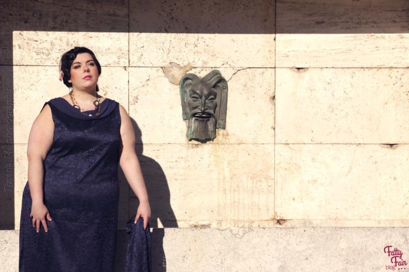 vestito cerimonia taglia forti outfit plus-size fatty fair blog