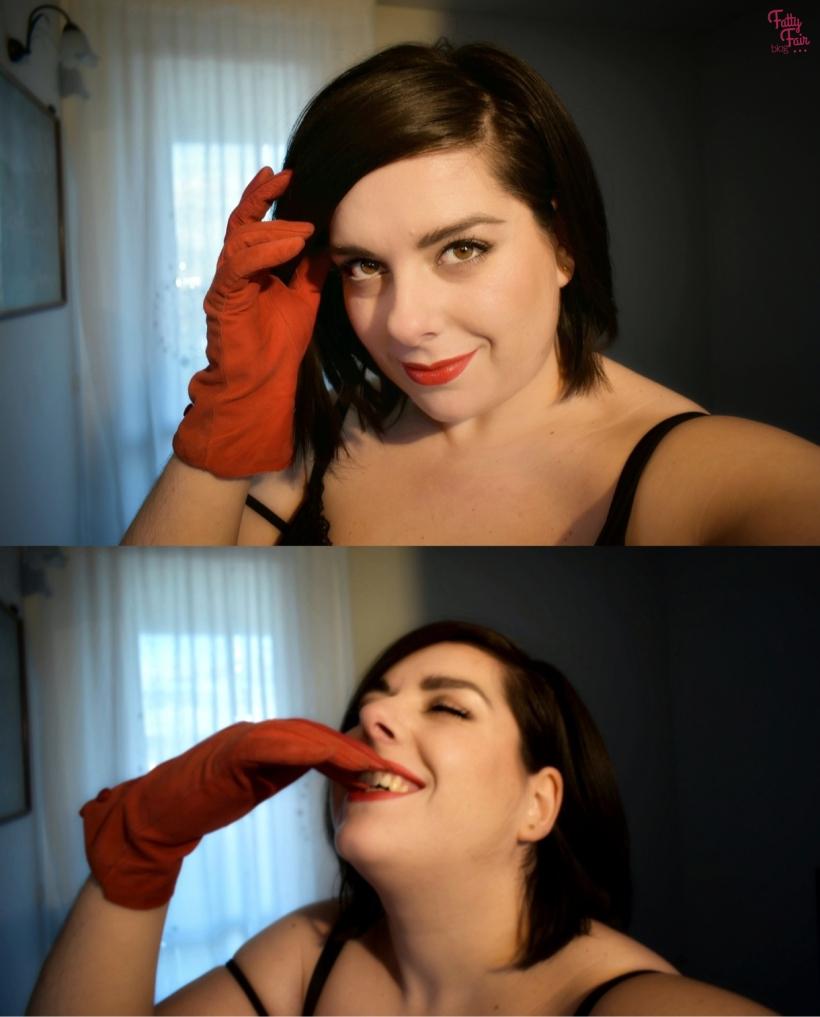 Look con un tocco di rosso per San Valentino | Fatty Fair Blog