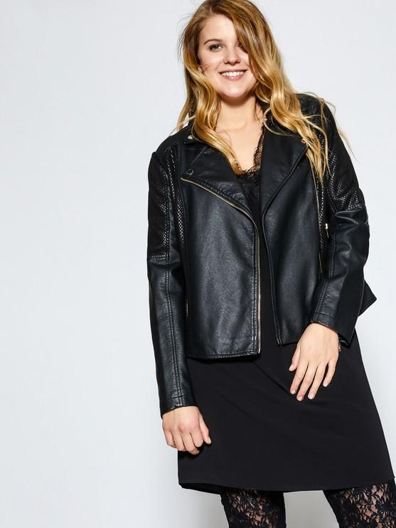 giacca-pelle-taglie-forti-curvy-plus-size-fatty-fair-blog-fiorella-rubino